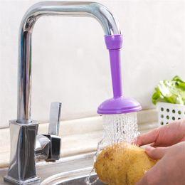 Wholesale tap nozzles - Adjustable Bathroom Shower Faucet Anti Splash Head Nozzle Faucets Kitche Tap Water Saving Device Household Supplies 2 45ds Y