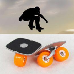 Wholesale Drift Skate Board - Portable Drift Board For Freeline Roller Road Driftboard Skates Anti-skid Skate board Skateboard Sports