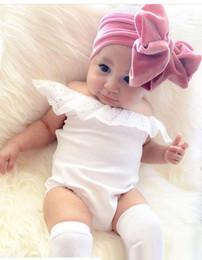 Wholesale Velvet Accessories - New Christmas Toddler Princess Bow Headbands Infant Baby Girls Velvet Hairbands 2018 Babies Stretchy Hair Accessories