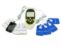 Argentina Alta calidad CE Aprobado Máquina de terapia digital Pulso de cuerpo completo Acupuntura masajeador 8 almohadillas EE. UU. Enchufe Suministro