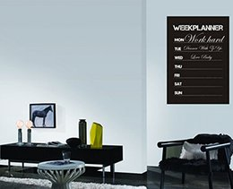 Wholesale Weekly Planners - Week Planner Chalkboard Vinyl Blackboard Post Wall Sticker Removable Blackboard Vinyl Sheet Decal Gorgeous weekly 31*45cm