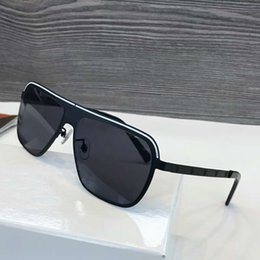 c8661374b21 Mens Black Sqare Pilot Sunglasses grey shaded VE2188 Designer Fashion Sunglasses  Brand New with box
