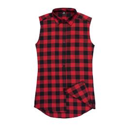 Бесплатная доставка горячая распродажа летние майки Kanye West High Street Side молния Шотландия черно-белые красные повседневные рубашки без рукавов supplier white tank shirts от Поставщики белые майки-цистерны