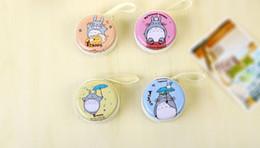 borsa della moneta del totoro di totoro Sconti Super Cute 1Piece Color Casuale, My neighbor TOTORO Coin BAG, mini 6cm Pocket Coin Purse, sacchetto Key BAG