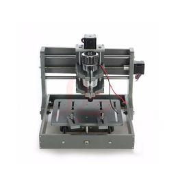 Wholesale engraving motor - 2018 DIY Mini 2020 CNC Frame LPT+USB Cnc Router Nema17 Stepper Motor Wood Engraving Machine