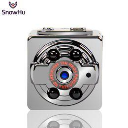 Wholesale Car Driving Video Recorder - SnowHu mini camera in Mini camcorders 1080p HD night vision Micro Camera Sports DV Voice Video Recorder for Car Driving SQ8