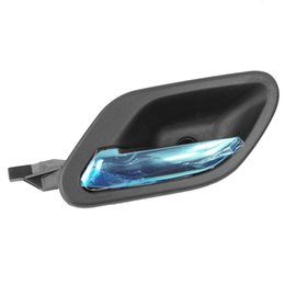 Wholesale Bmw Door Handle - New Left Black With Chrome Inside Door Handle For BMW E38 E39 51218226049