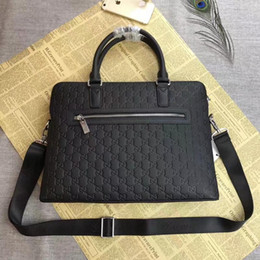 Wholesale High Quality Briefcases - High Quality Handbags Designer Bags Brand Briefcases Totes Luxry Men Women Briefcases Casual Crocodile Leather Handbag Classic Bags