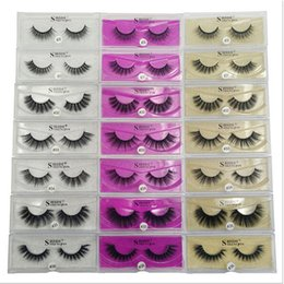 Wholesale Extensions For Long Hair - 3D Artificial Mink Lashes Thick Imitation Mink False Eyelashes Natural for Beauty Makeup Extension Fake Eyelashes False Lashes 3001221