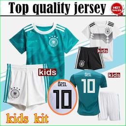 1df62d441 2018 World Cup Germany Kids Jersey Kits OZIL MULLER GOTZE HUMMELS KROOS  REUS Boy Kit SOCCER JERSEY 18 19 KROOS Home Football Shirts Uniforms