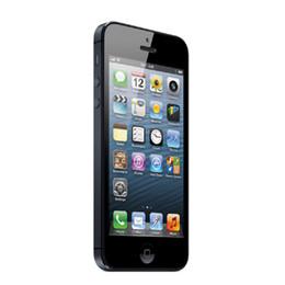 Wholesale apple wifi - Original Apple iPhone 5 64GB 4.0 inch Retina Screen 1136*640 HD iOS 6.0 3G WCDMA 8.0MP Camera GPS WiFi Refurbished Smartphone