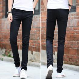 Wholesale Tight Cowboy - Menswear, elastic, tight, small feet pants and fashion black cowboy pants