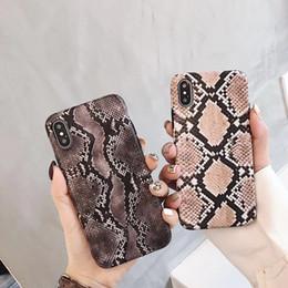 Cas de téléphone de peau de serpent sexy pour iPhone 8 7 6 s plus dur PC Sac de téléphone cas couvrent Fundas Coque ? partir de fabricateur