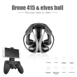 Wholesale Copter Motors - Foldable RC Quadcopter 2.4GHz Ball Shape RC Drone Dron WiFi FPV 0.3MP Camera Drones Toy New WiFi APP Quad Copter Voice Control