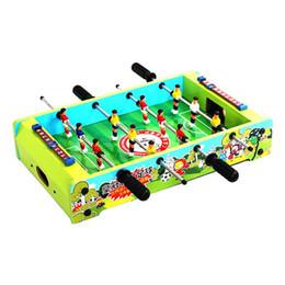 Canada Jouets éducatifs pour enfants MINI TABLE EN BOIS JEU DE JEUX POUR ENFANTS BUREAU ARCADE PLAY JOUET FAMILLE FUN XMAS CADEAU supplier arcade games children Offre