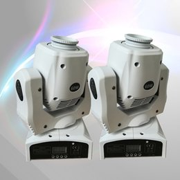 Wholesale moving head led gobo - Wholesale- 2 pieces White Cover 60W LED Spot Moving Head Light 60W USA Luminums LED gobo moving heads lights super bright LED DJ Spot Light