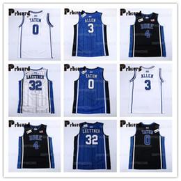NCAA Duke Men's 3 Grayson Allen 0 Jayson Tatum 32 Christian Laettner 4 JJ Reddick 1 kyrie Irving College Basketball Jerseys