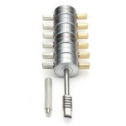 corte de vado Desconto GOSO Ford Tibbe Pick (6 Cut) com estojo de couro fornecendo um código que pode ser usado para cortar uma nova chave Ford Tibbe