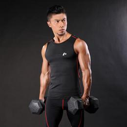 9a1511f0d2b FOLUOLUNDIYA Men Muscle Tank Tops Compression Bodybuilding Vest Clothing  Crossfit Fitness Men Undershirt Tank Tops Undershirt