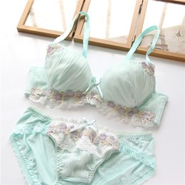 df9915b9895 padded bra brief set Canada - YOURMIX Nice and Lolita Bouffancy Floral Bra  and Brief Set
