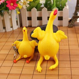 stuff toy chicken Coupons - Wholesale- 2017 New year decorations Chicken mascot Stuffed plush Chicken doll toys Year of the rooster supplies Animal doll toy baby toy