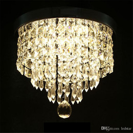 Argentina Lámpara de Techo Moderna Lámpara de Techo Lámpara de Cristal Colgante Lámpara de Techo Pasillo Lámpara de Porche Dormitorio Sala de estar Techo Balcón Luces cheap crystal ball ceiling lights Suministro