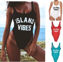Wholesale Red Tankini Swimsuits - women sexy fashion swimwear nice venus summer for girls tankini sea games high quality bathing Alphabet swimsuit