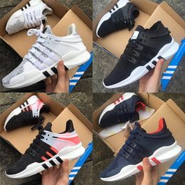 Wholesale fashion bowl - Adidas Originals Arrival Ultra Boost EQT Support ADV Future Boost 93 17 White Black Pink Men Women Sport Fashion Sneakers Running Shoes