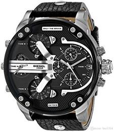 Wholesale Leather Strap Sale - Hot Sale DZ7313 DZ7314 DZ7311 Men Watch Top Luxury Brand Fashion Genuine Leather Strap Multifunction Quartz Wristwatches Herenhorloge