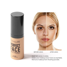 Wholesale Perfect Base - FOCALLURE Face Makeup Base Face Liquid Foundation Cream Concealer Moisturizer Oil-control Waterproof Foundation perfect face matte Primer