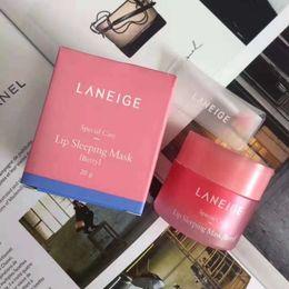 drop shipping Laneige специальный уход губы Спящая Маска бальзам для губ помады увлажняющий антивозрастной против морщин LZ бренд уход за губами 20 г от