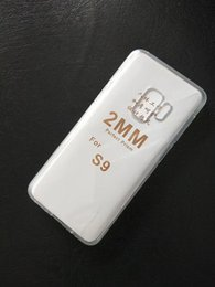 Wholesale thick phone cases - For LG K10 Iphone Samsung Galaxy J3 J4 J6 J7 J8 2018 S9 2mm Thick Clear Transparent TPU Gel Cell Phone Cases Covers