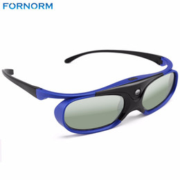 Wholesale Original Benq - Fornorm Original Active Shutter Rechargable 3D Glasses 1pc For Xgimi Z3 Z4 H1 Nuts G1 P2 BenQ Acer & All DLP LINK Projector
