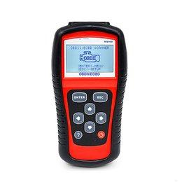 Obd2 scanner para carros alemães on-line-Leitor de Código Maxiscan MS509 OBD2 scanner de Carro OBDII MS 509 Ferramenta de Diagnóstico Automotivo Holandês / Inglês / Francês / Alemão / Espanhol
