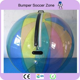 Wholesale inflatable walking pool - Free Shipping 2m Walk On Water Ball Water Sports Balloon Water Walking Ball Water Zorb Ball Inflatable Human Hamster Ball