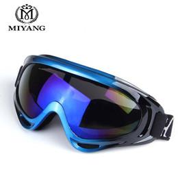 2d99dabcfc22 Outdoor Ski Goggles Double UV400 Anti-fog Big Ski Mask Glasses Skiing Men  Women Snow Snowboard Goggles HX-X400