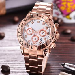 Wholesale Rose Quartz For Men - Diamonds Luxury mens watches Bracelet Ladies Brand aaa Watch rose gold watches for men women wristwatch relogios masculinos Relogio Feminino