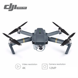 Wholesale Dji Drone - DJI Mavic Pro Fly Folding FPV Drone With 4K HD Camera OcuSync Live View GPS GLONASS System RC Quadcopter
