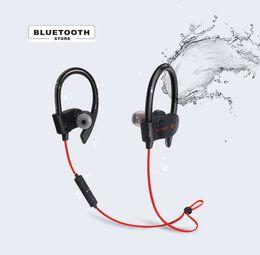 Auricolari mega basso online-Wireless Outdoor Sport Auricolare Bluetooth Impermeabile MEga BASS Light-body Cuffia ad alta compatibilità Auriculares