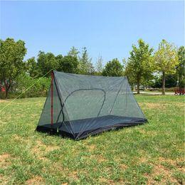 2019 сверхлегкие палатки для альпинизма Portable Backpacking Tent Ultralight Waterproof Mosquito Camping Tent Outdoor Hiking Mosquito Net Outdoor Camping скидка сверхлегкие палатки для альпинизма