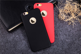 Colores de manzana 5s online-Carcasa mate de silicona Candy Colors Soft TPU para iPhone X 8G 7G 6 6S PLUS 5S SE