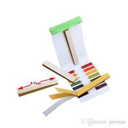 Tiras de prueba al por mayor online-Venta al por mayor- 80 piezas de tiras por bolsa Kit de prueba de rango 1-14 de prueba de pH completo Mejor precio