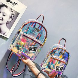 384e5931071d 2018 New Style Fashion Summer Girls Clear Backpack Personality Lovely  Zipper Cute Knapsack Satchel PVC. Supplier  lemmenv