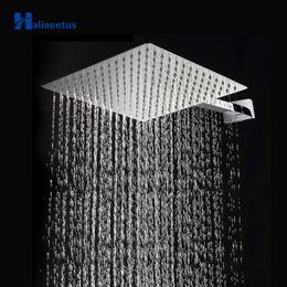 "Wholesale 12 Rain Shower Head - 12"" 30cm*30cm Wall Mounted Bathroom Shower Square Head With Shower Arm.Thin Steinless Steel Rain Head Arm"