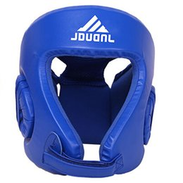 fighting training gear Coupons - New Style Men Women Fight Head Guard Sparring Head Protection Training Sanda Muay Thai Boxeo Taekwondo Boxing Helmets Headgears Gear