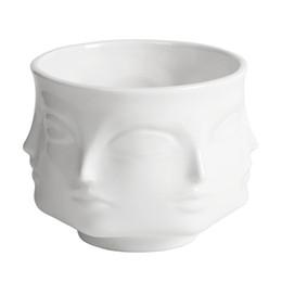 Jonathan Adler Dora Maar Musa Vasi vasi da fiori fioriere Muse Noir Dora Maar insalatiere / portacandele / fioriere da vasi da fiori in miniatura all'ingrosso fornitori