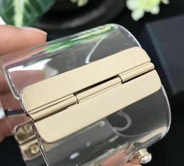 Canada Le nouveau bracelet jonc de la marque arrive! perle de luxe acrylique bracelets bracelets manchette de poignet pour femmes avec sac supplier acrylic Offre