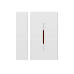 Sistema de puente online-SONOFF DW1 433 Mhz Sensor de ventana de puerta Detector inalámbrico magnético WIFI Alarma Sistema de seguridad Soporte RF Puente Interruptor inteligente Alexa