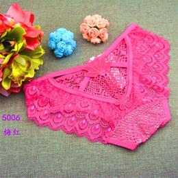 Fashion Sexy Women Lace Jacquard Gauze Panties Underwear Lace Briefs Women  Underwear 0f90e50a4