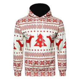 sudaderas unisex de navidad Rebajas Hombres Sudaderas con capucha de Navidad para mujer Unisex Navidad Impreso con capucha Sudadera con capucha Sudadera suelta Sudadera con capucha caliente Jersey Nuevo